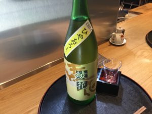 日本酒新入荷♪ 福岡の人気酒蔵さんのひやおろしですよー♪