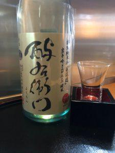 福岡、博多は夜から雨… 今日は日本酒のご紹介